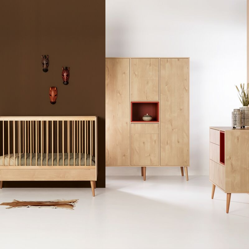 Chambre Cocoon Natural Oak