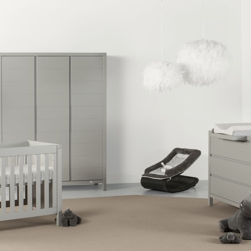 Chambre Stripes Griffin Grey