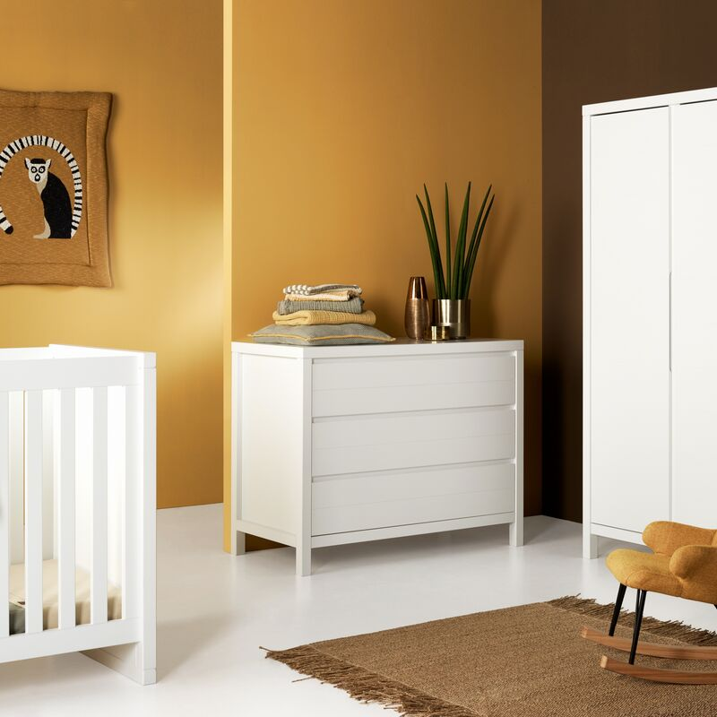 Chambre Stripes White