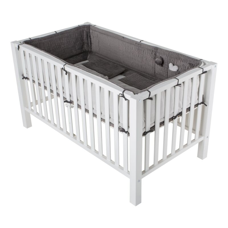 PLAYPEN MARIE-LUCCA XL - TWINS - WHITE