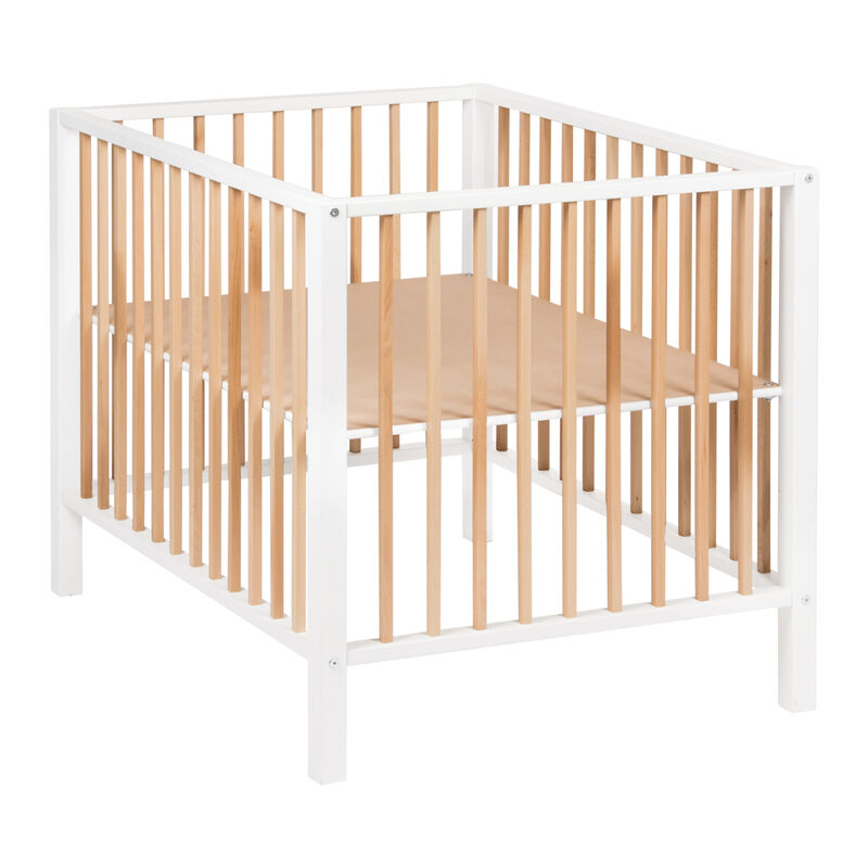 PLAYPEN NORDIC - WHITE & NATUREL