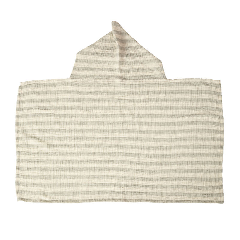 NATURAL - CAPE DE BAIN - STRIPES GREY