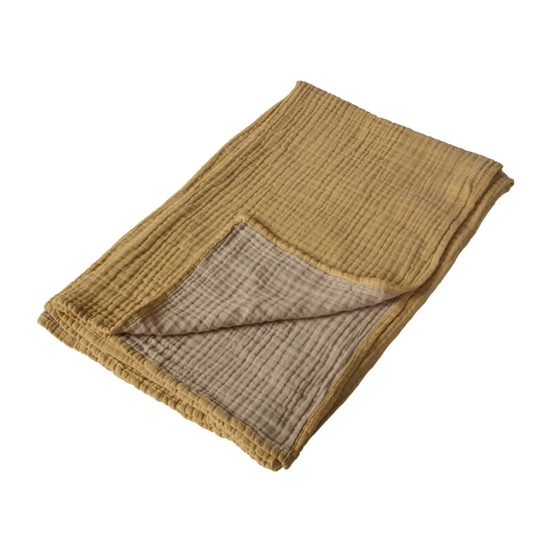 NATURAL - BLANKET/TOWEL R/V XL- SAFFRAN/BEIGE
