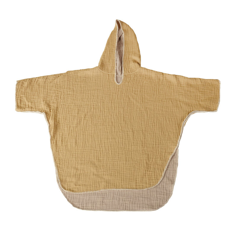 NATURAL - PONCHO - ADULT - SAFFR/BEIGE