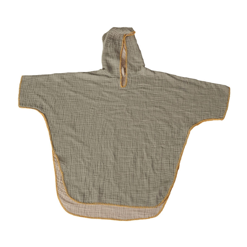 NATURAL - PONCHO - ADULT - KHAKI/BEIGE