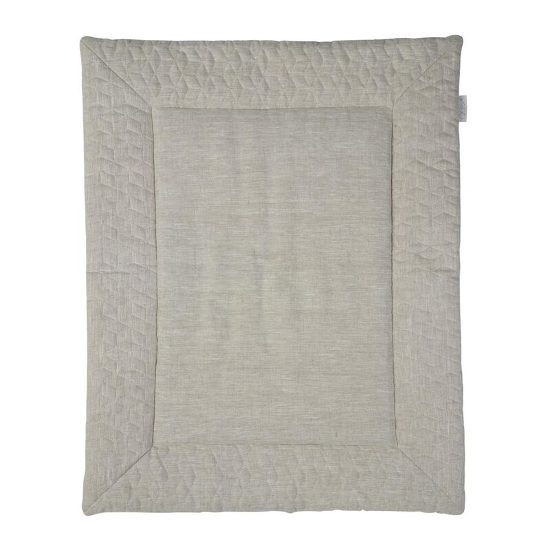 PLAYPEN MAT - NATURAL LINEN