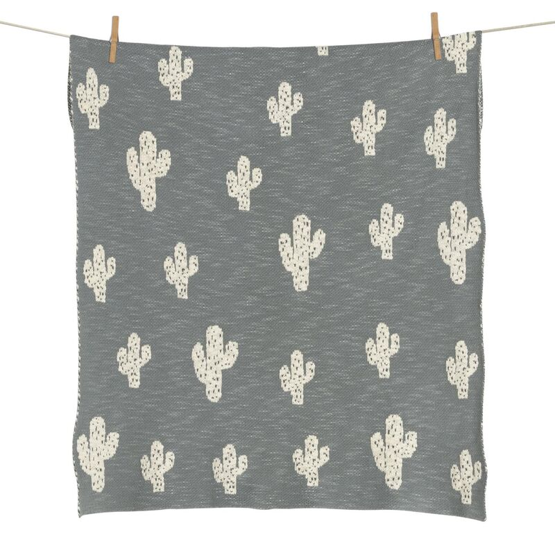 TRICOT COUVERTURE- ON THE GO - CACTUS