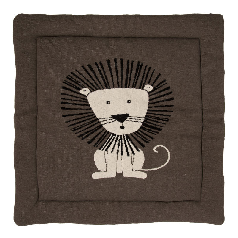 KNITTED - PLAY CARPET - 100*100CM - LION