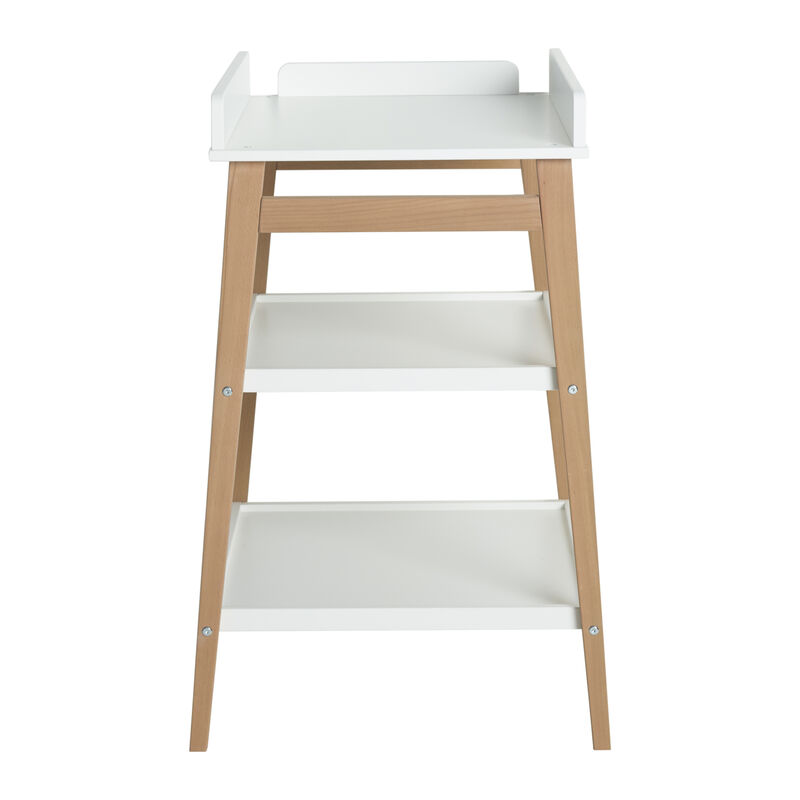 CHANGING TABLE - HIP - WHITE/NATURAL