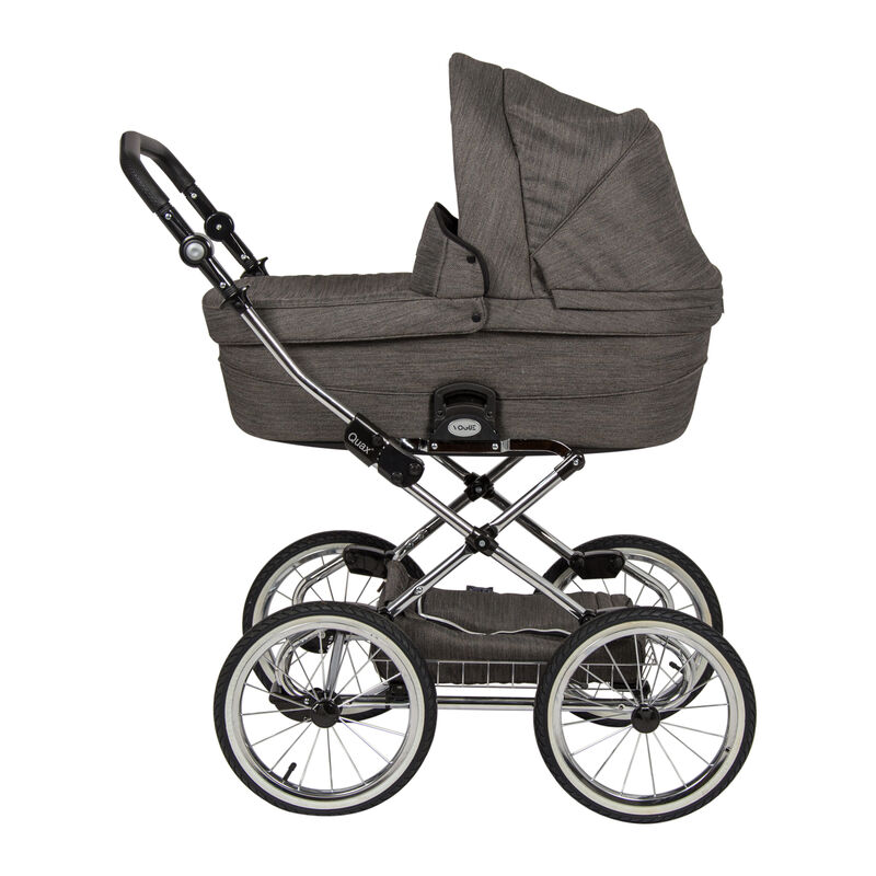 VOGUE PRAM - CHEVRON BROWN