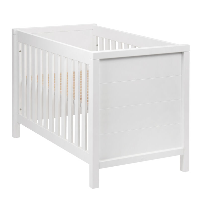 STRIPES COT 120 * 60 CM - WHITE