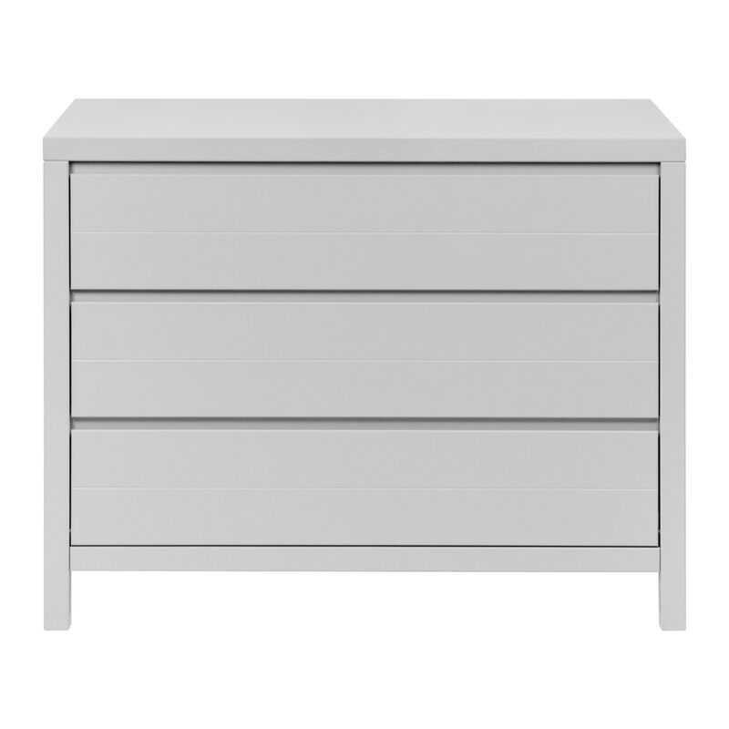 STRIPES CHEST 3 DRAWERS - GRIFFIN GREY