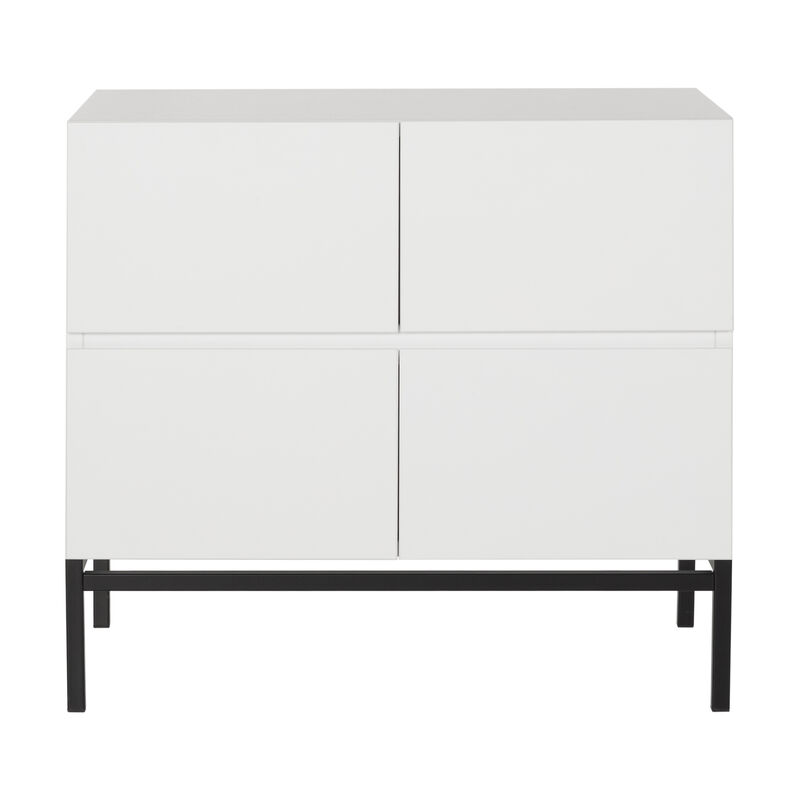 HAVANA - CHEST 4 DRAWERS - WHITE