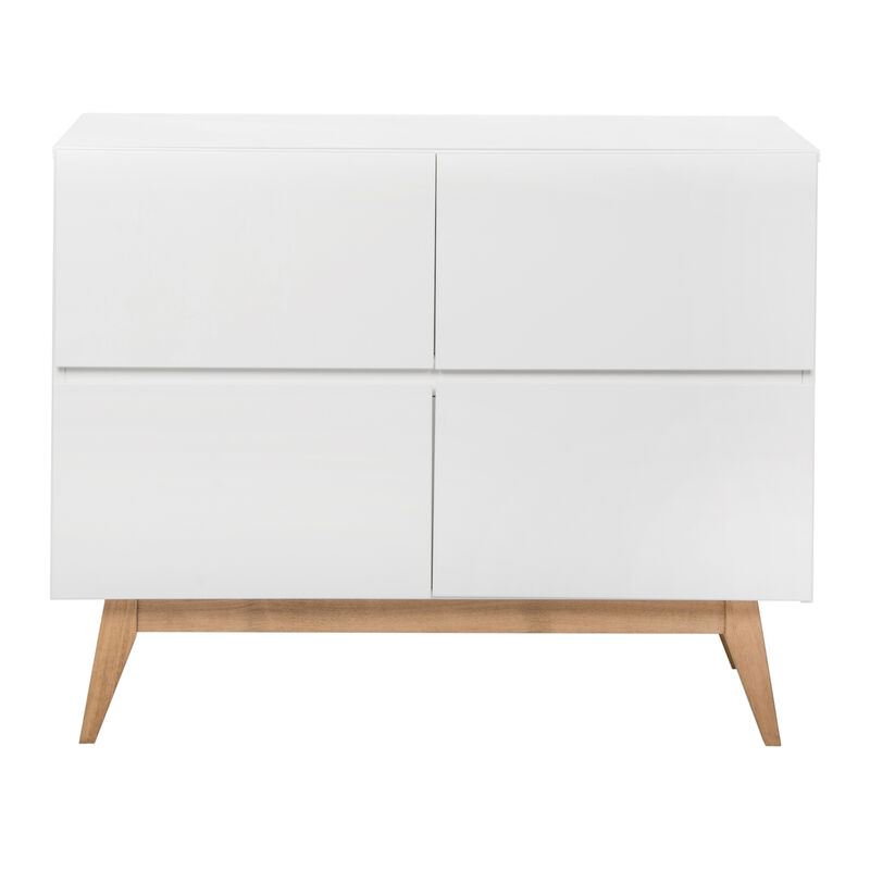 TRENDY COMMODE 4 LADEN - WHITE
