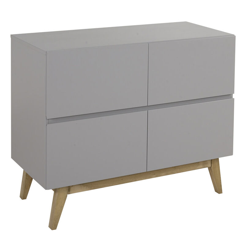 TRENDY COMMODE 4 TIROIRS - GRIFFIN GREY