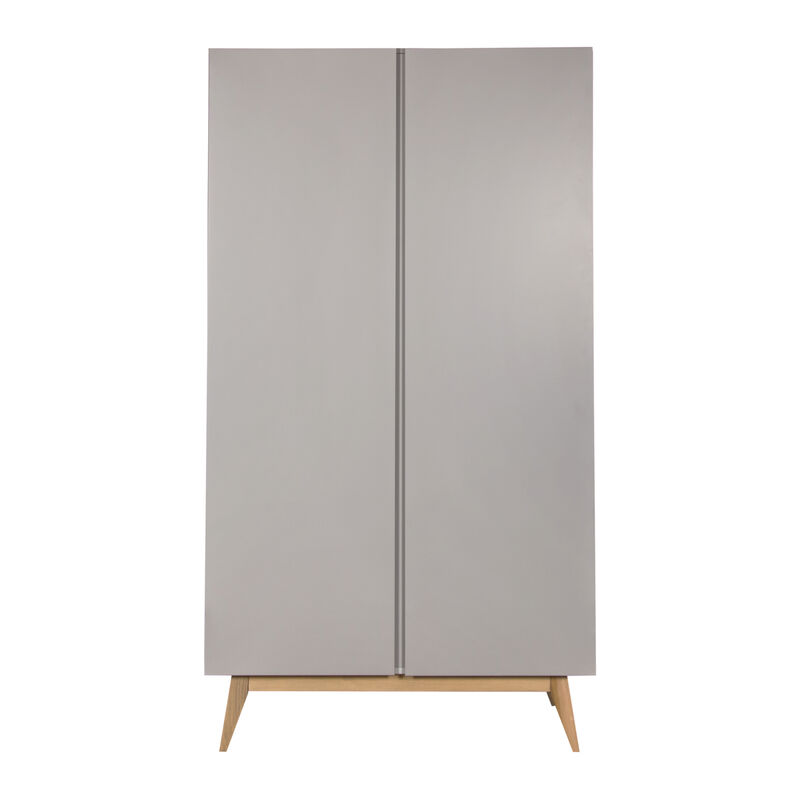 TRENDY ARMOIRE 2 PORTES - GRIFFIN GREY
