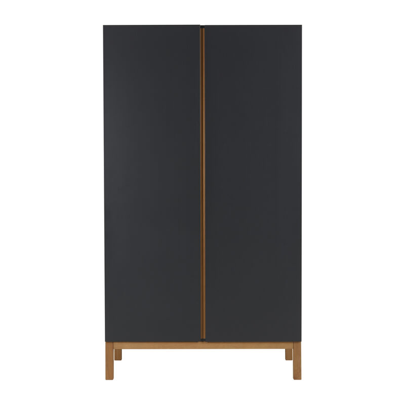 INDIGO WARDROBE 2 DOORS - MOONSHADOW