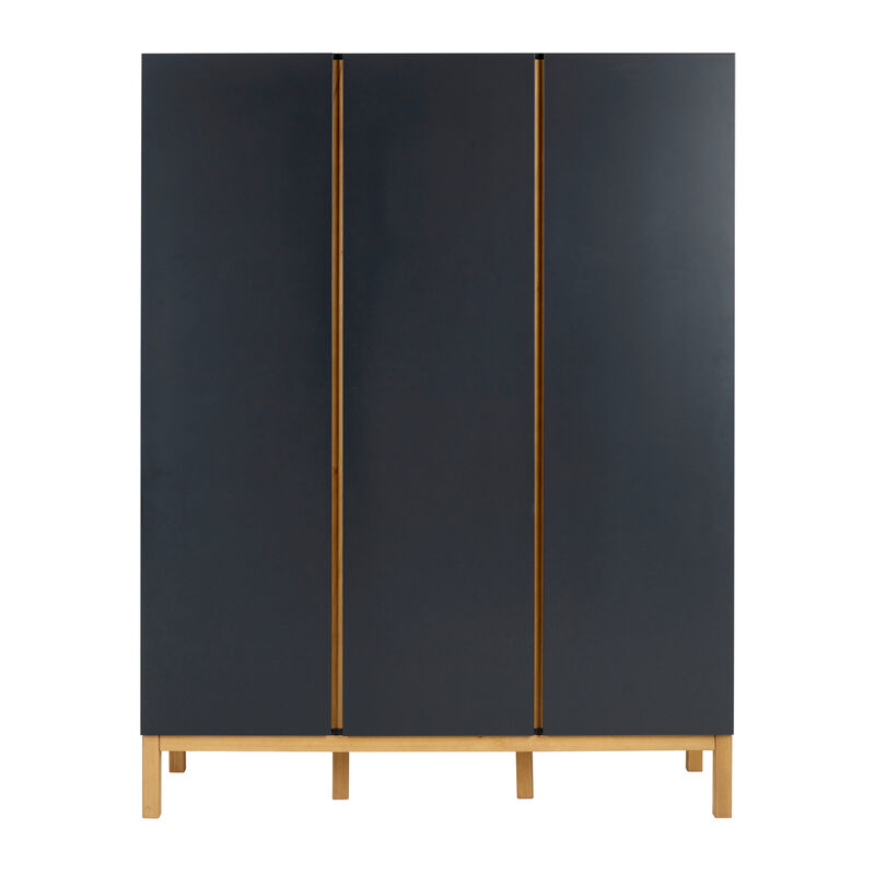 INDIGO WARDROBE 3 DOORS - MOONSHADOW