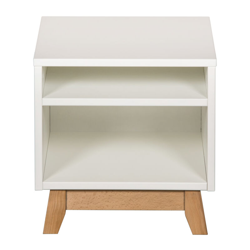 TRENDY BEDSIDE CHEST - WHITE