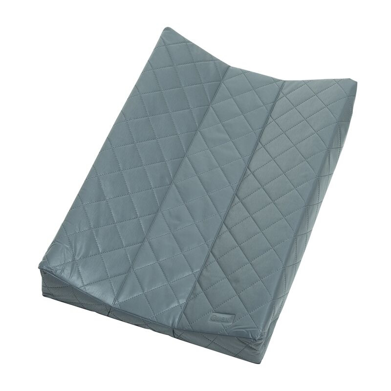 CHANGING PAD - QUILTED - DARK GREY