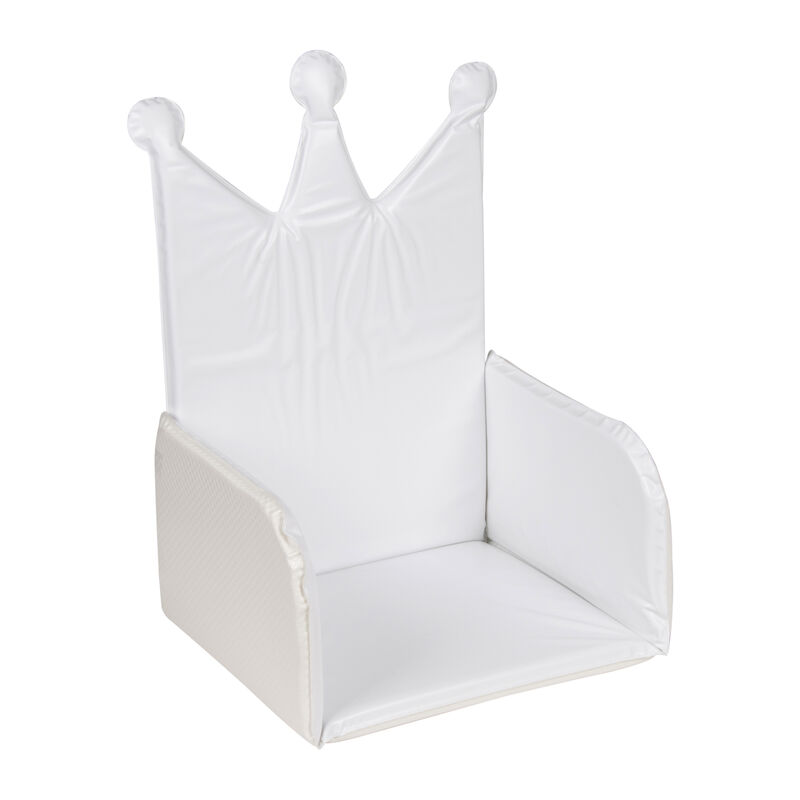 BOOSTER CUSHION CROWN - WHITE