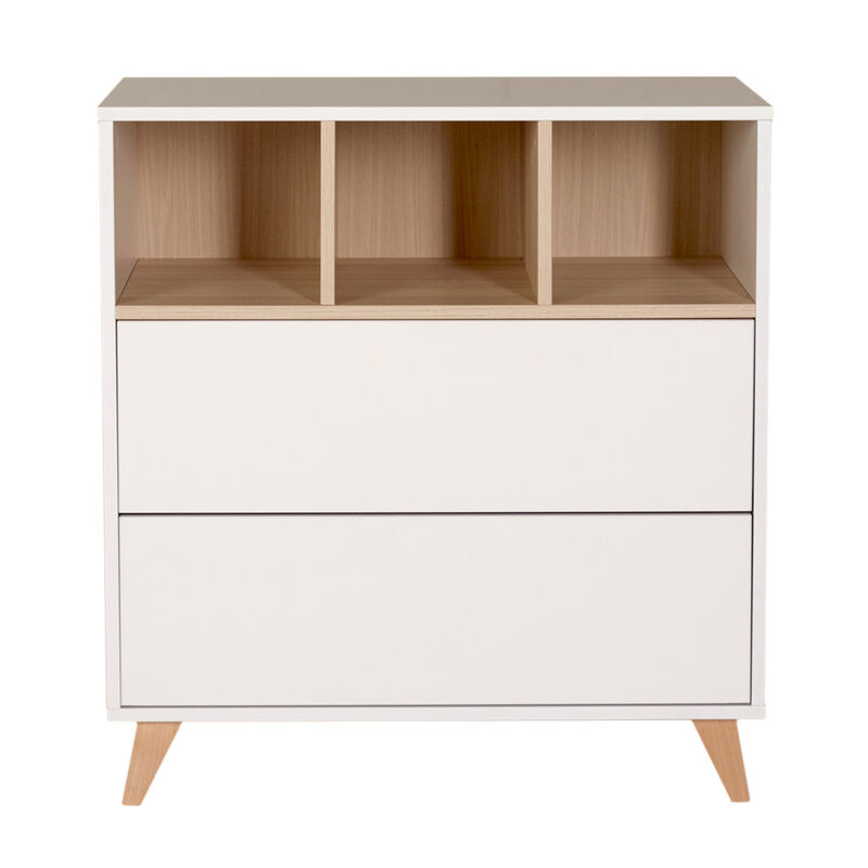 LOFT COMMODE - WHITE