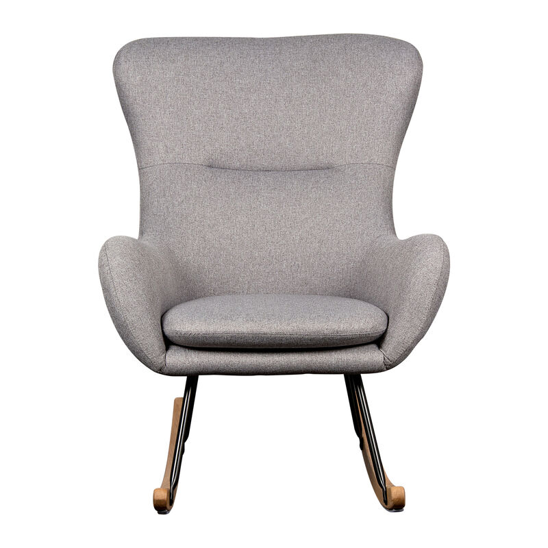 ROCKING CHAIR ADULT -  BASIC - DARK GREY