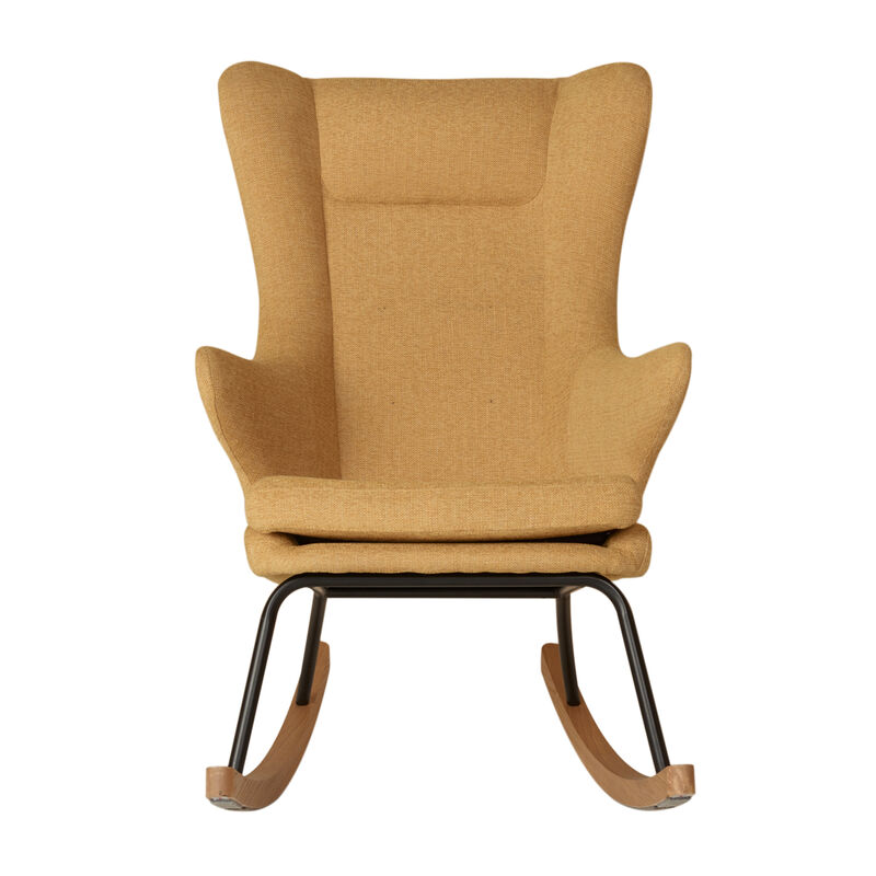 ROCKING ADULT CHAIR DE LUXE - SAFFRAN