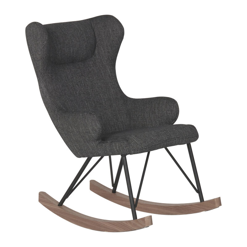 ROCKING KIDS CHAIR DE LUXE - BLACK