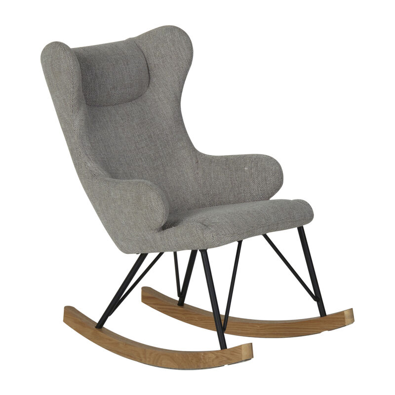 ROCKING KIDS CHAIR DE LUXE - SAND GREY