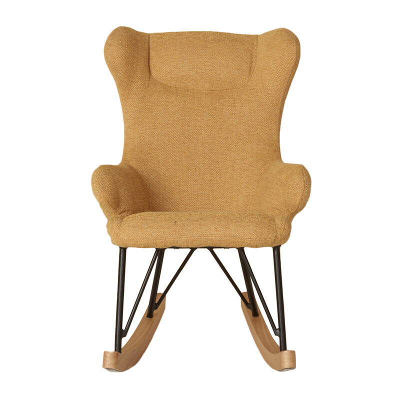 ROCKING KIDS CHAIR DE LUXE - SAFFRAN