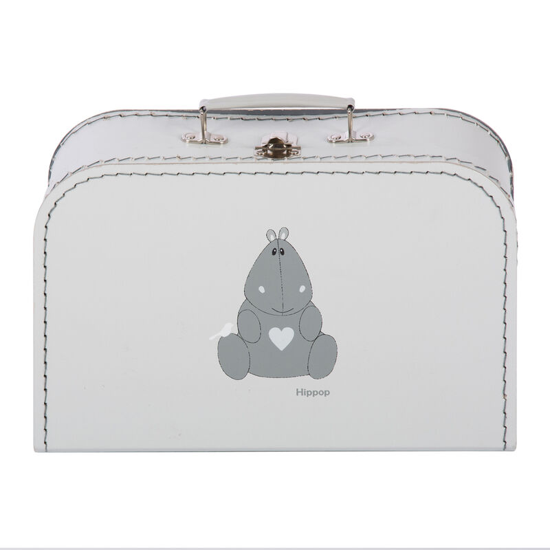 SUITCASE HIPPOP - LIGHT GREY