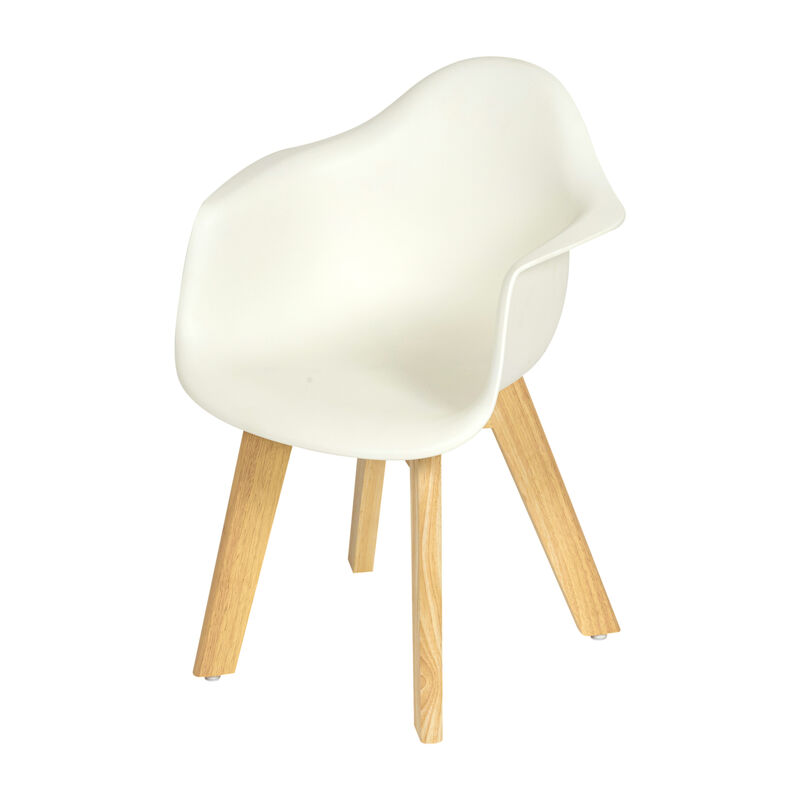 KIDS CHAIR WHITE (SET VAN 2)