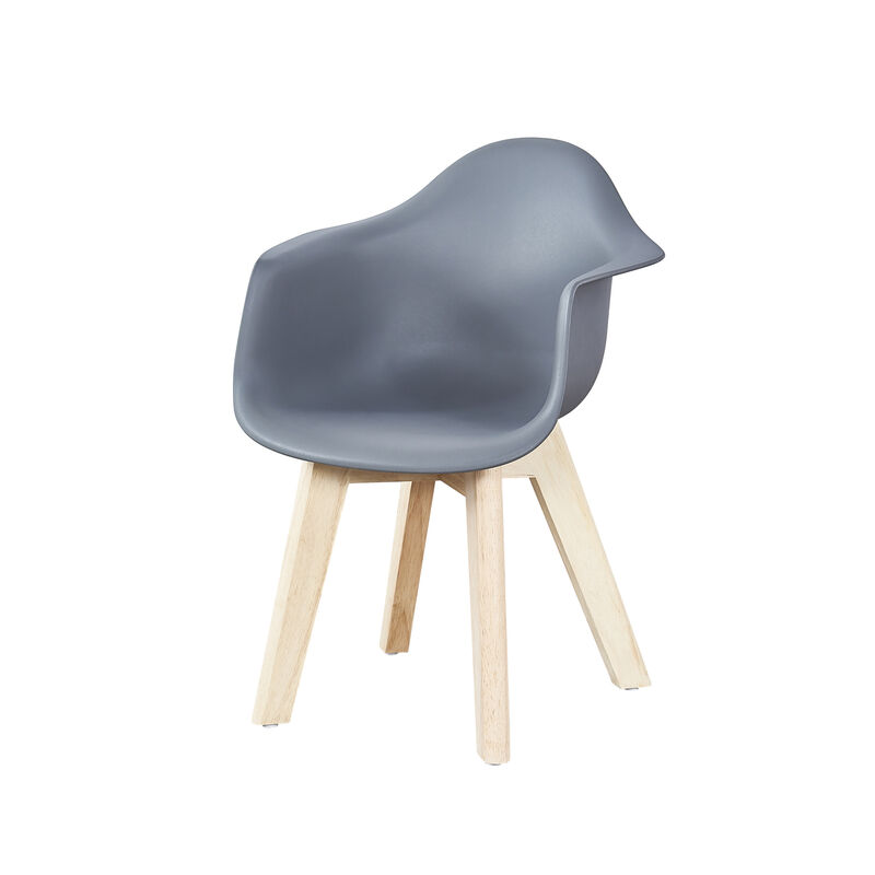 KIDS CHAIR GREY (SET VAN 2)
