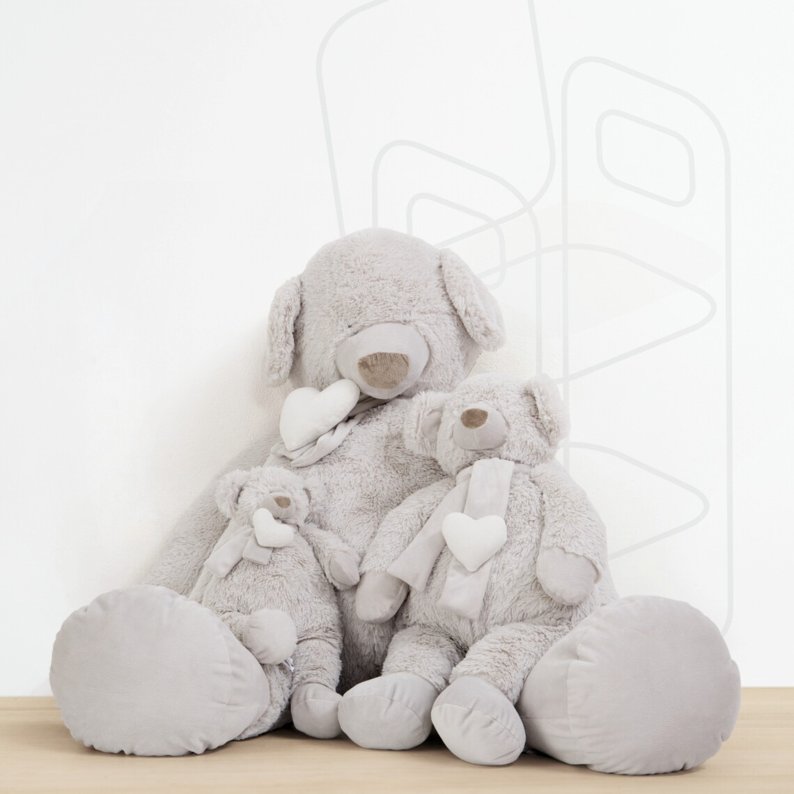 Peluche Bear Family